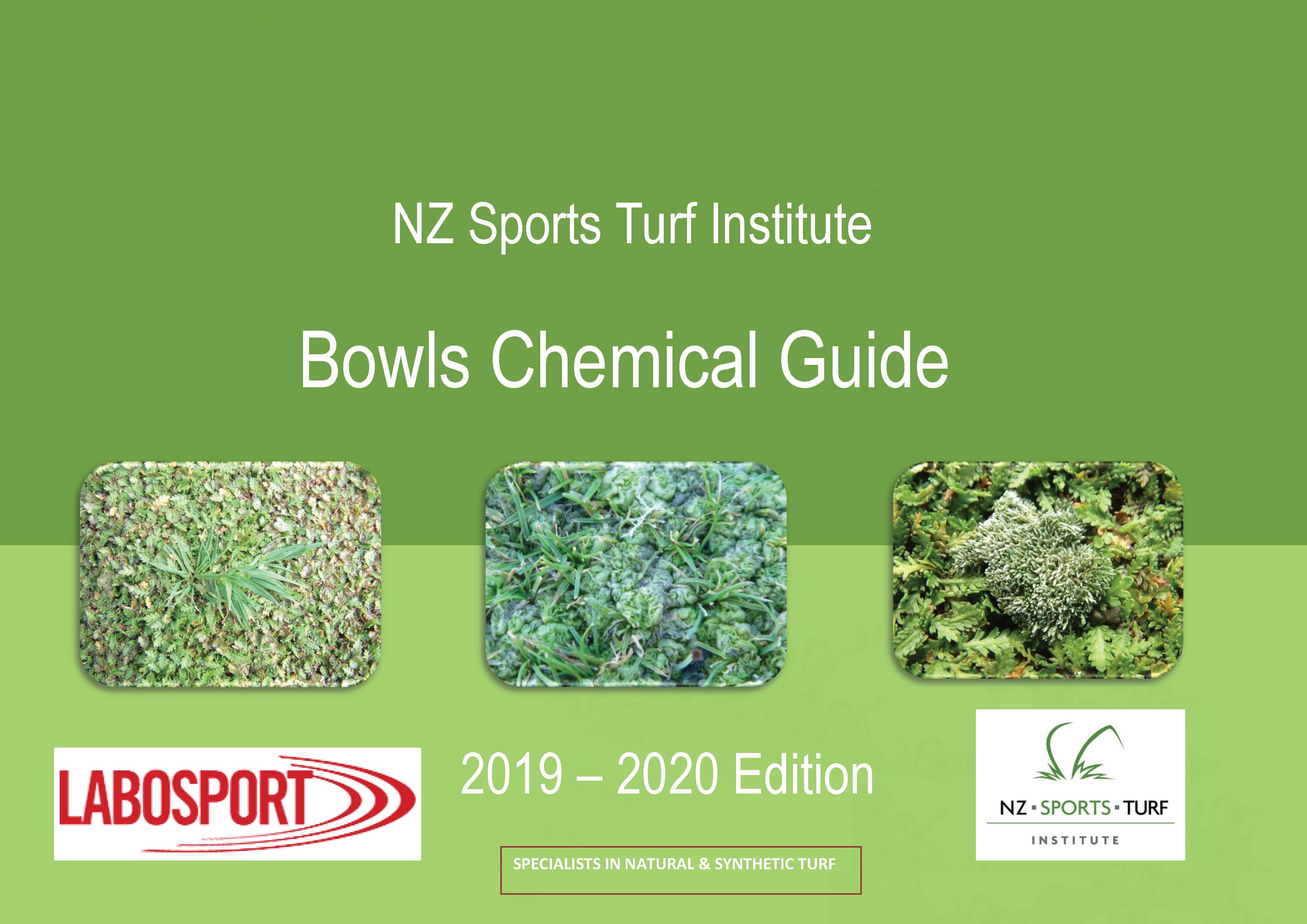 NZSTI Bowls Chemical Guide