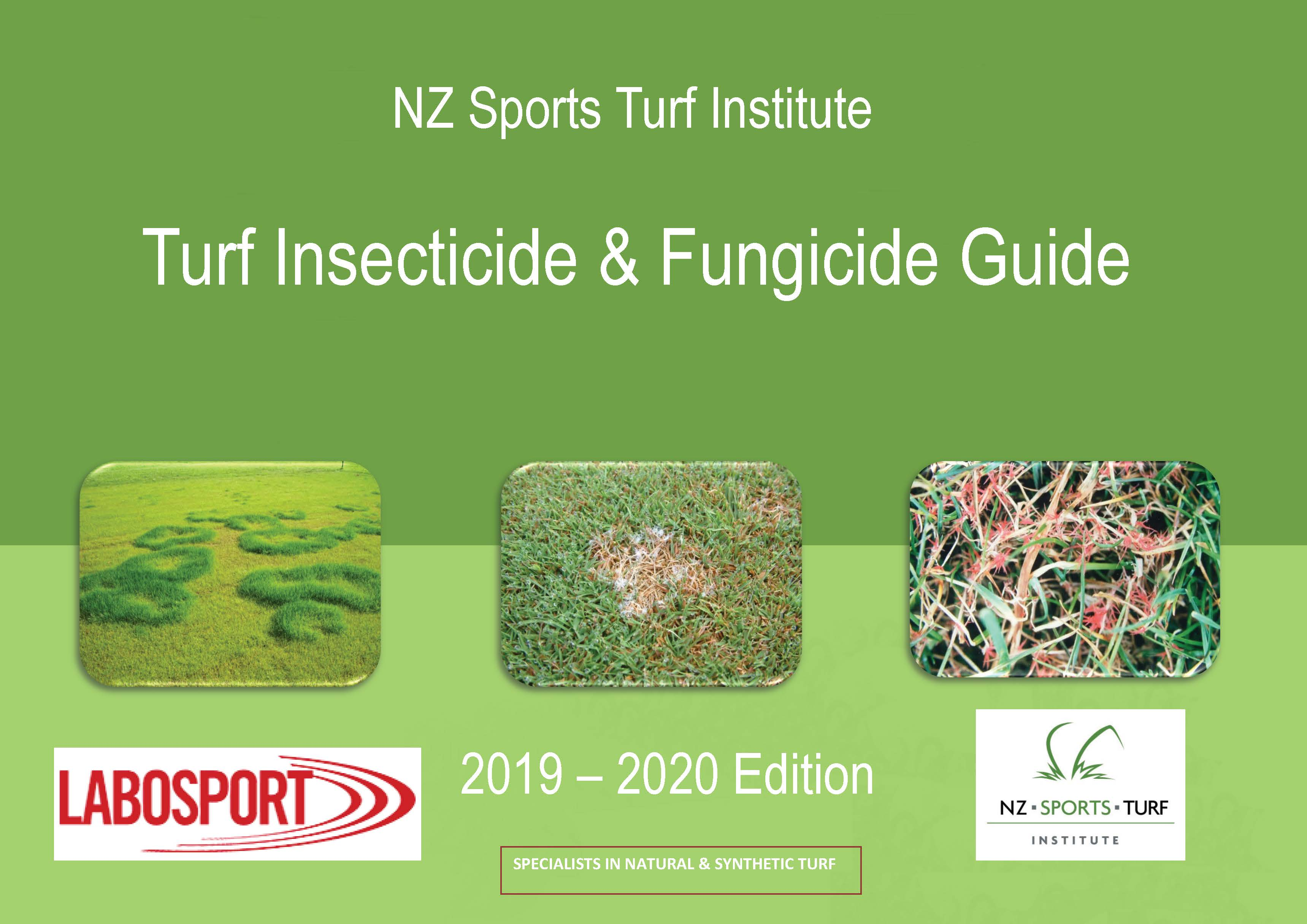 NZSTI Sports Turf Fungicide and Insecticide Guide