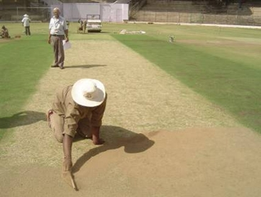 Karnataka Cricket Association – International Pitch Preparation