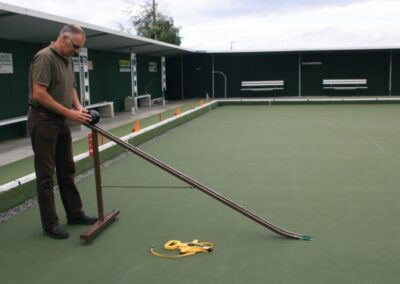Bay View Bowling Club – World Bowls Board Testing